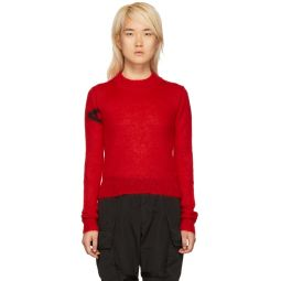 Red Mohair Judy Sweater