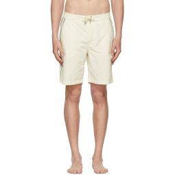 Off-White Piped Board Shorts