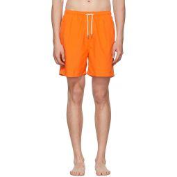Orange Classic Swim Shorts
