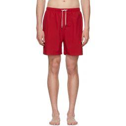 Red Classic Swim Shorts