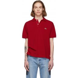 Red Classic Polo