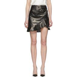 Black Talouma Miniskirt