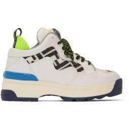 White 'Forever Fendi' T-Rex Sneakers