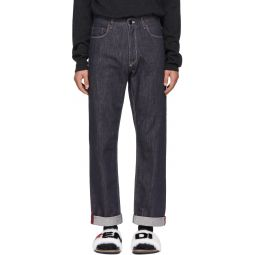 Indigo 'Fendi Mania' Jeans