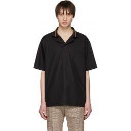 Black Popover Shirt