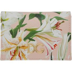 Pink Lily Card Holder