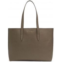 Taupe Dauphine Shopping Tote