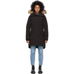 Black Down Rossclair Parka