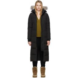 Black Down Mystique Parka