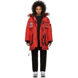 Red Down Snow Mantra Parka