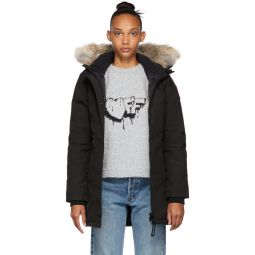 Black Down Victoria Parka
