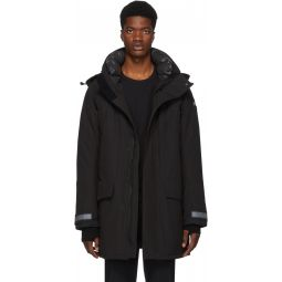 Black 'Black Label' Down Sheriddon Parka