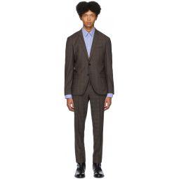 Beige Arti/Hesten 193 Check Suit