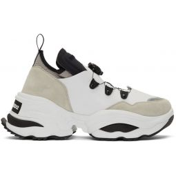 White Rolling Giant Sneakers