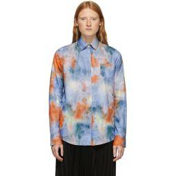 Multicolor Tie & Dye Mismatch Shirt