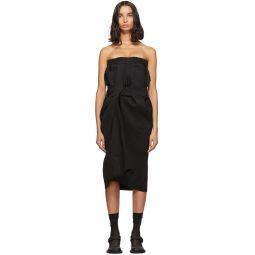 Black Cavalry Twill Dress