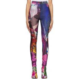Multicolor Five-Pocket Trousers
