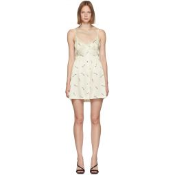 Off-White Vintage Bra Dress