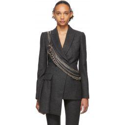 Silver Multi Chain Harness