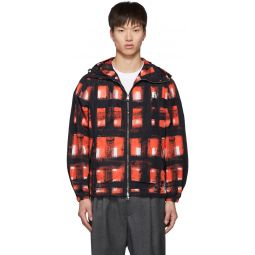 Black & Red Painted Check Jacket