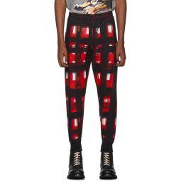 Black & Red Check Lounge Pants