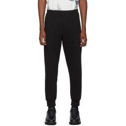 Black Organic Loopback Jersey Lounge Pants