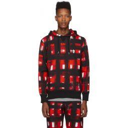Black & Red Pullover Hoodie