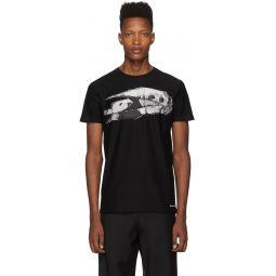 Black Print T-Shirt