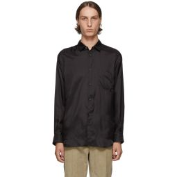 Black Taffeta Shirt