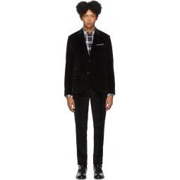 Black Corduroy Suit