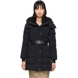 Black Down Eppingham Coat