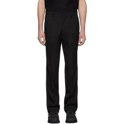 SSENSE Exclusive Black Wool Tailored Trousers