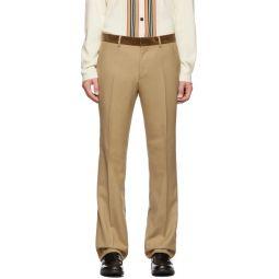 Tan Formal Trousers