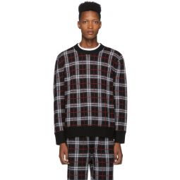 Black Check Fletcher Sweater