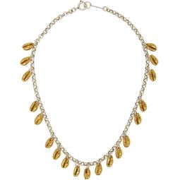 Silver & Gold Amer Necklace
