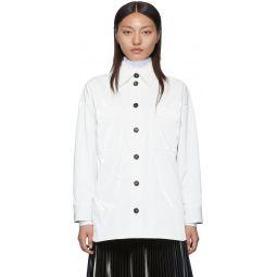 White 'Forever Fendi' Lining Jacket