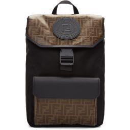 Black & Brown 'Forever Fendi' Backpack