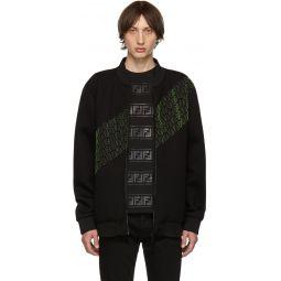 Black Asymmetric FF Track Jacket