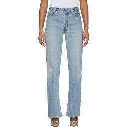 Indigo Levi's Edition 70s Ultra High-Rise Bell Bottom Jeans