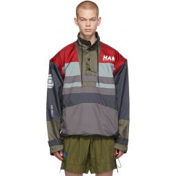Multicolor Tech Jacket
