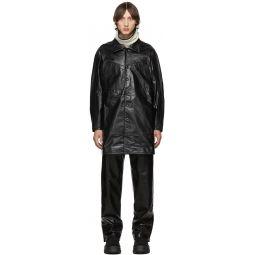 Black Leather Preston Jacket