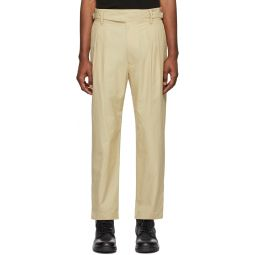 Beige P-Coole Trousers