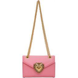Pink Mini Devotion Chain Wallet Bag