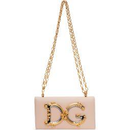 Pink DG Girls Phone Bag