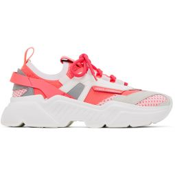 Pink Stretch Mesh Daymaster Sneakers