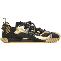 Gold & Black NS1 Sneakers