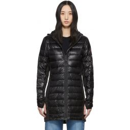 Black Down Hybridge Lite Coat