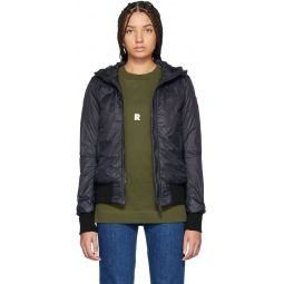 Black Down Dore Jacket