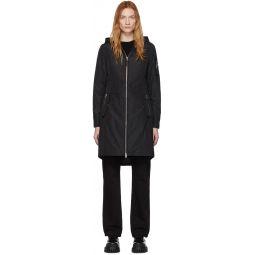 Black Down Casey Coat