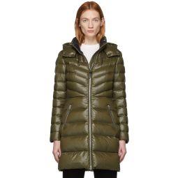 Khaki Down Lara Coat